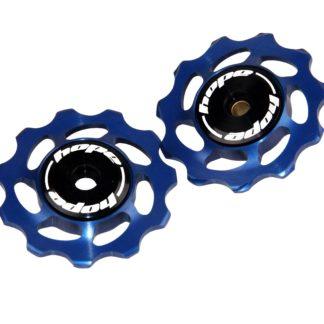 Hope 11 Tooth Jockey Wheels Blue