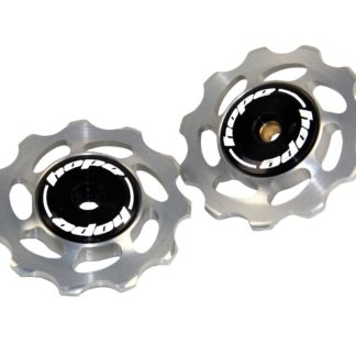 Hope 11 Tooth Jockey Wheels Silver