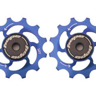 Hope 12 Tooth Jockey Wheels Blue