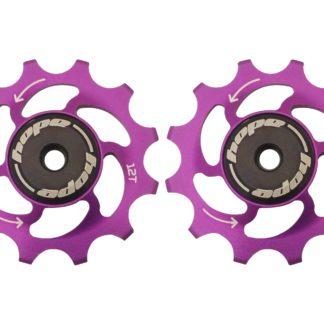 Hope 12 Tooth Jockey Wheels Purple