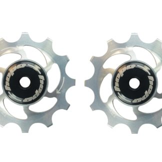 Hope 12 Tooth Jockey Wheels Silver