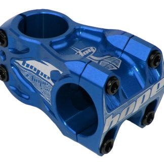 Hope DH Stem 0 deg 50mm OS 31.8 Blue
