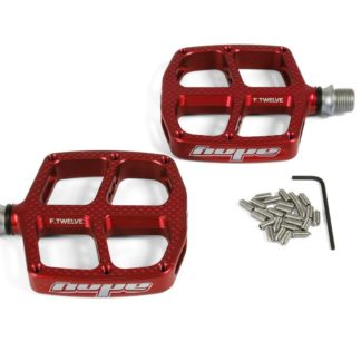 Hope Kids F12 Pedals Red