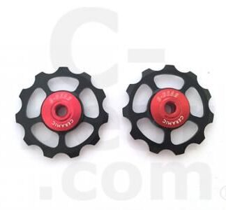 C-Bear Alloy Pulley Ceramic Jockey wheel Shimano/Sram 10-11 spd