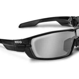 Koo Open Black Smoke Mirror Lenses