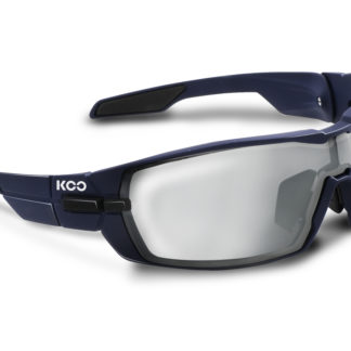 Koo Open Matt Dark Blue Smoke Mirror Lenses
