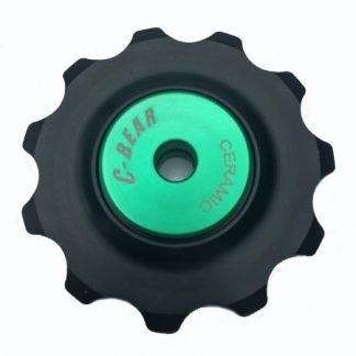 C-Bear Delrin Thermoplastic Ceramic Jockey wheel Campag/Shimano/Sram 10-11 spd