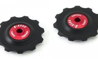 C-Bear Delrin Thermoplastic Ceramic Jockey wheel Campag/Shimano/Sram 10-11 spd