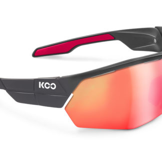 Koo Open Cube Anthracite Matt/Cherry Ultra White Lenses