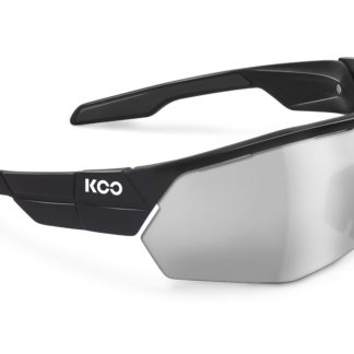 Koo Open Cube Black Smoke Mirror Lenses