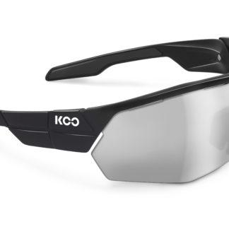 Koo Open Cube Black Smoke Mirror Lenses