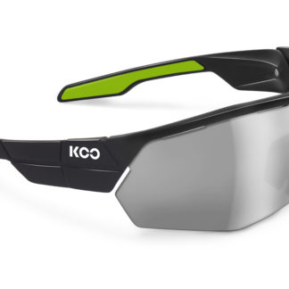 Koo Open Cube Black/Lime Smoke Mirror Lenses