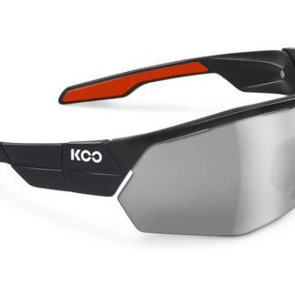 Koo Open Cube Black/Red Smoke Mirror Lenses