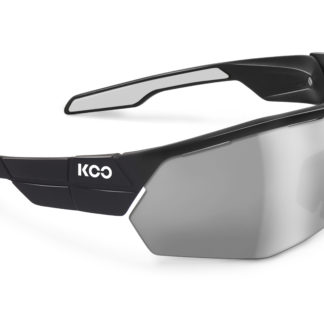 Koo Open Cube Black/White Smoke Mirror Lenses