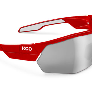 Koo Open Cube Red Smoke Mirror Lenses