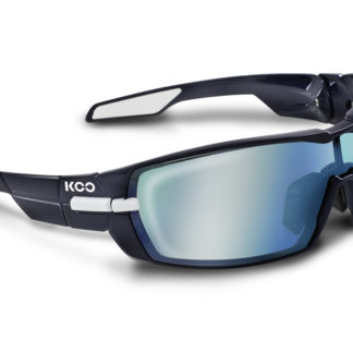 Koo Open Navy Blue Super Blue Lenses