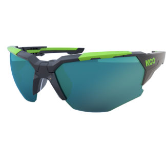 Koo Orion Black/Lime Lime Lenses