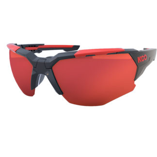 Koo Orion Black/Red Red Mirror Lenses