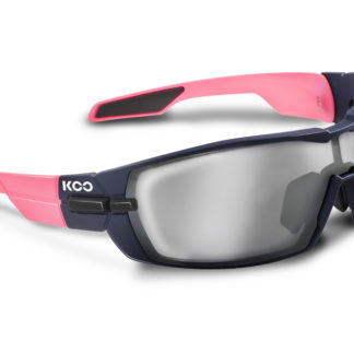 Koo Open Dark Blue/Pink Smoke Mirror Lenses