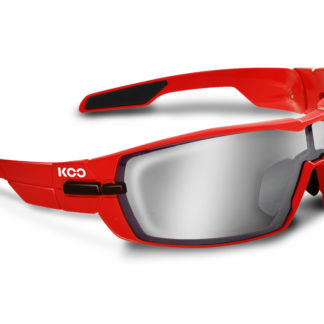 Koo Open Red Smoke Mirror Lenses