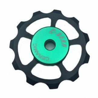 C-Bear Alloy Pulley Ceramic Jockey wheel Shimano/Sram 10-11 spd