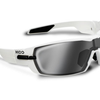 Koo Open White Smoke Mirror Lenses
