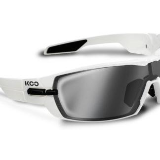 Koo Open White Smoke Mirror Lenses