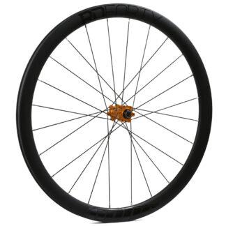 Hope RD40 Carbon 6B Front Wheel Orange