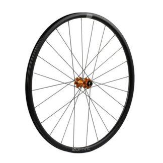 Hope 20Five Front Wheel Straight Pull 6 Bolt Orange
