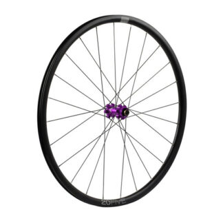 Hope 20Five Front Wheel Straight Pull 6 Bolt Purple