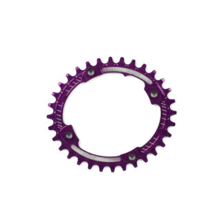 Hope Oval Retainer Ring PURPLE