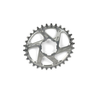 Hope Oval Spiderless Retainer Ring SILVER