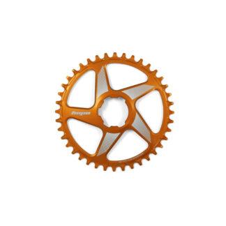 Hope Spiderless RX Chainring Orange