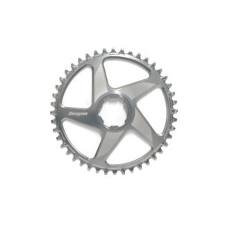 Hope Spiderless RX Chainring Silver