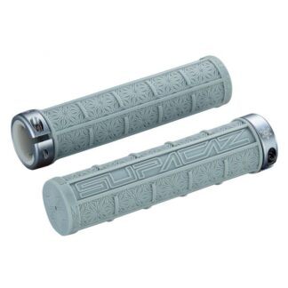 Supacaz Grizips Bar Grips Gun Metal