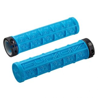 Supacaz Grizips Bar Grips Neon Blue