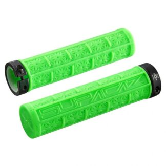 Supacaz Grizips Bar Grips Neon Green