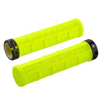 Supacaz Grizips Bar Grips Neon Yellow