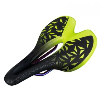 Supacaz Ignite Ti Saddle Neon Yellow