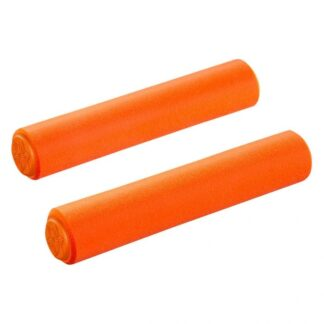 Supacaz Siliconez Bar Grips Neon Orange
