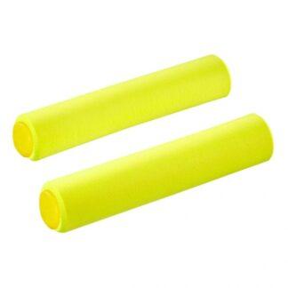 Supacaz Siliconez Bar Grips Neon Yellow