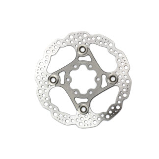 Hope Floating Disc Rotor 140MM 6 Bolt Silver