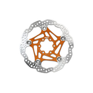 Hope Floating Disc Rotor 205MM 6 Bolt Orange