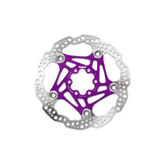 Hope Floating Disc Rotor 200MM 6 Bolt Purple