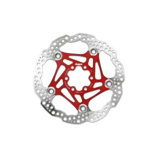 Hope Floating Disc Rotor 205MM 6 Bolt Red
