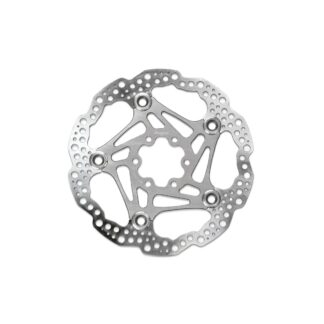 Hope Floating Disc Rotor 200MM 6 Bolt Silver
