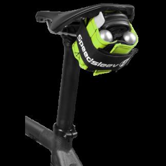 Speedsleev Ballistic Nylon Seatsleev Compression Saddle Pack Green Small
