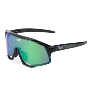 Koo Demos Black Frame Green Mirror Lenses