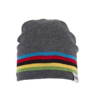 Big Bobble Hats UCI Grey Rainbow Beanie