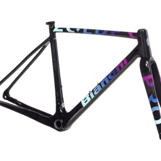 Bianchi Zolder Pro Frameset 2021 Black/Purple Rainbow